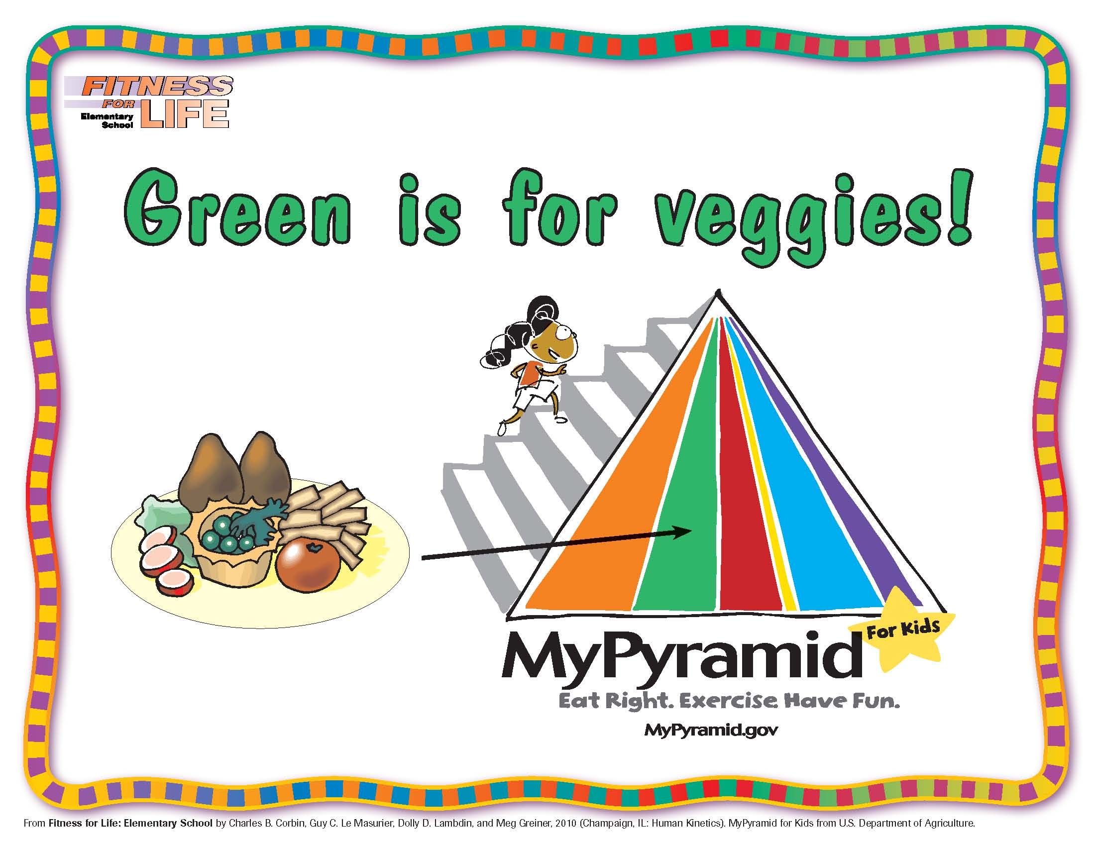 Green is for Veggies!