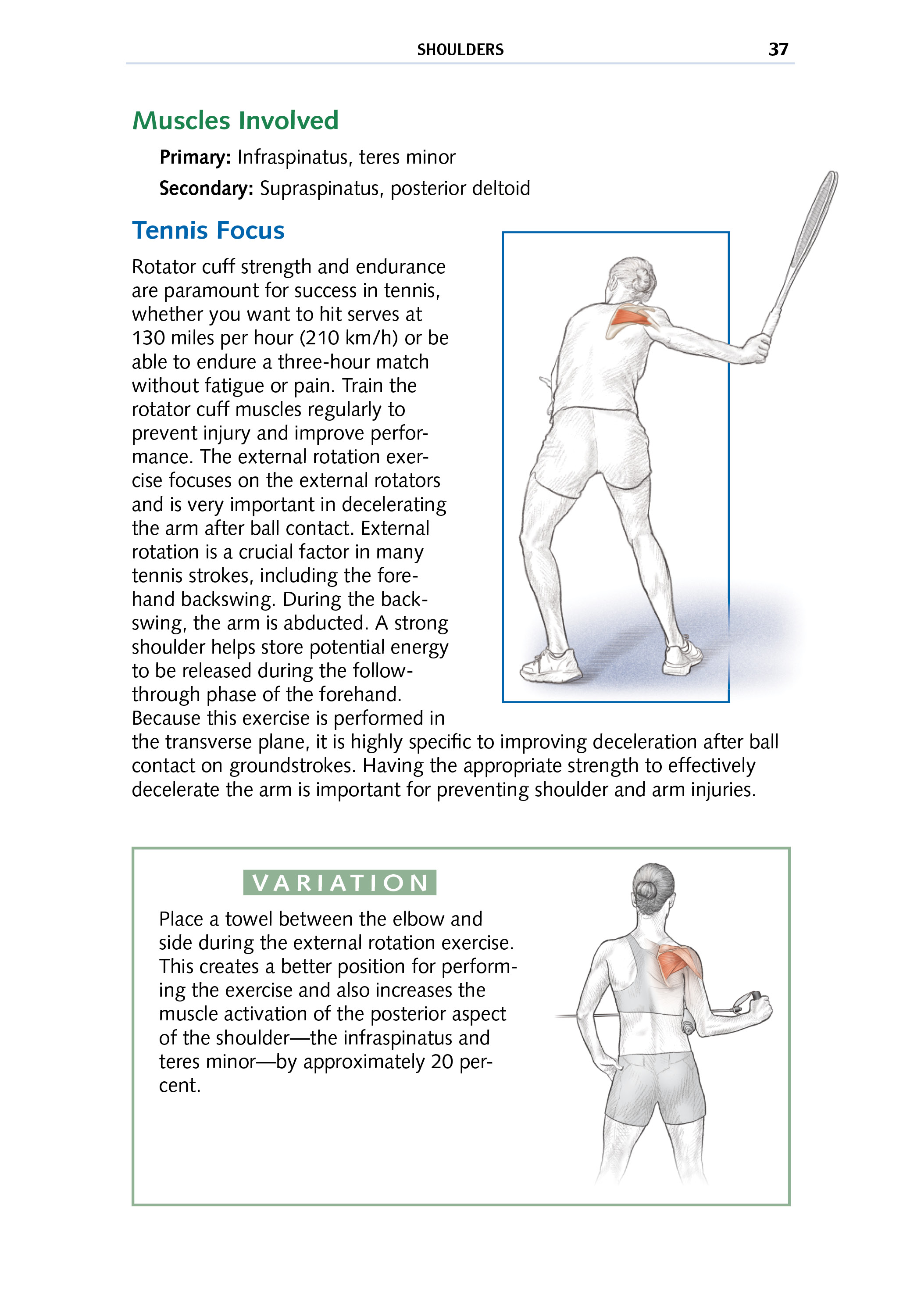 Tennis Focus: Shoulders