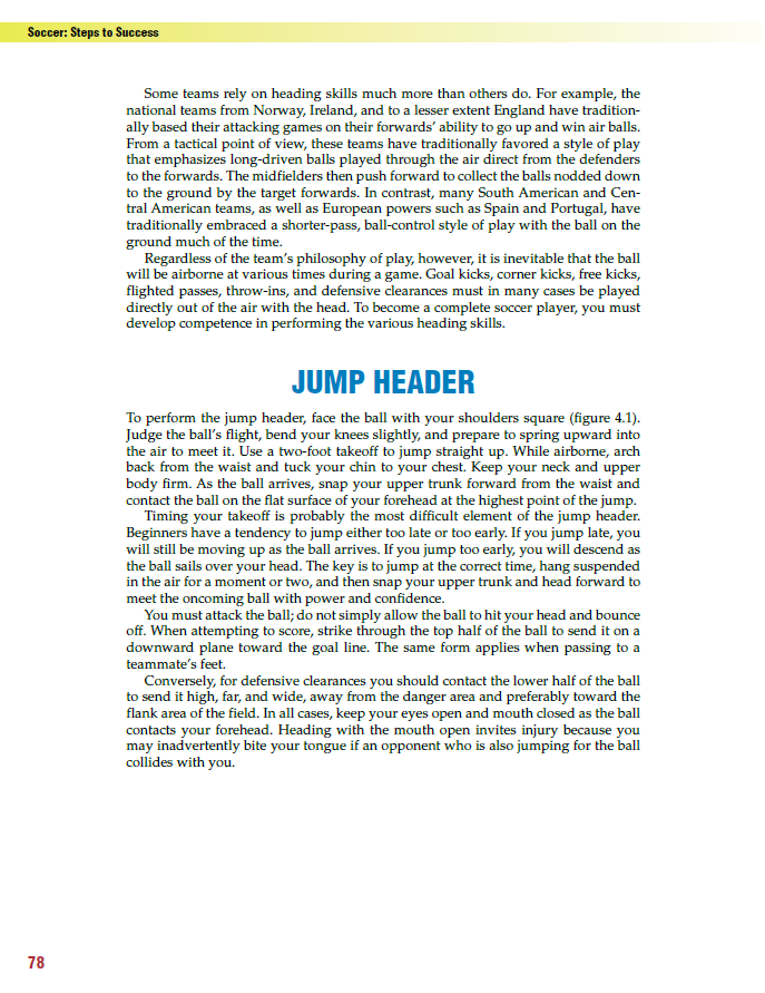 Jump Header - Description